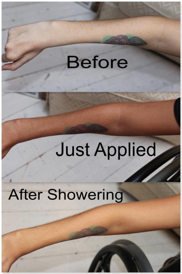 Loving tan results
